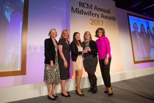 RCM Awards - EuroKing Better Births 2017 winner